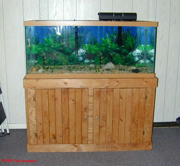 How To Make A 75 Gallon Fish Tank Stand